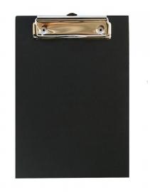 Houten klembord zwart krijtverf