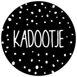 Sluit stickers / etiketten Kadootje (10 stuks)