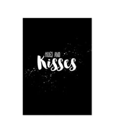 Kaart Hugs and kisses