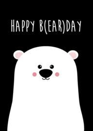 Kaart Happy B(ear)day