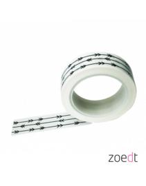 Masking tape pijlen