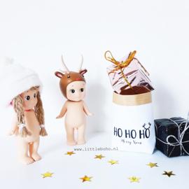 Dollhouse paperbag Kerst ho ho ho