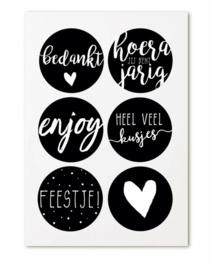 Setje stickers