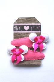 Haarknipjes Vlinder roze