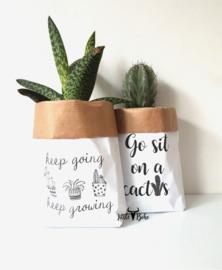 Paperbaggies | Keep growing