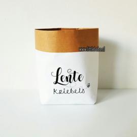 Paperbaggies | Lentekriebels