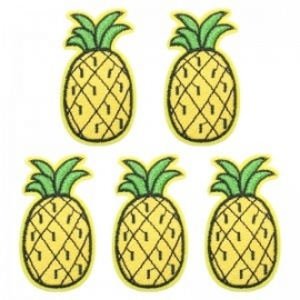 Jeans Patch Pineapple