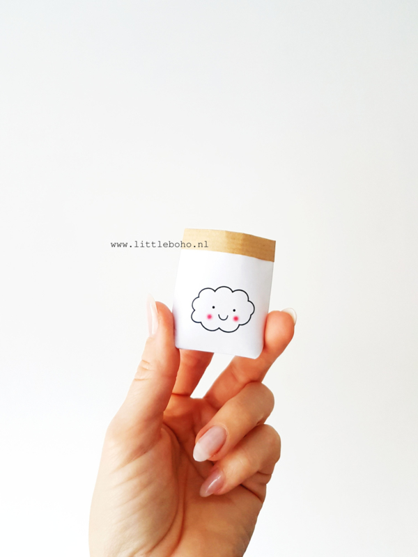 Dollhouse paperbag Cloud