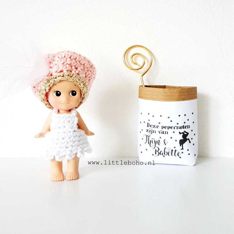 Dollhouse paperbag Pepernootzakje
