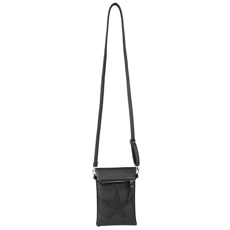 Flip top Bag Star Zwart