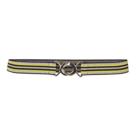 CO'COUTURE RIEM BLACK YELLOW
