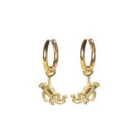 Earrings Monkey Gold