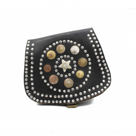 COINS STAR BAG BIG BLACK