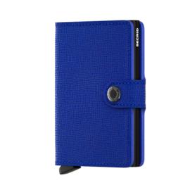 SECRID Miniwallet Crisple Blue - Black
