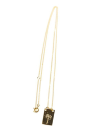 XZOTA PALM TREE KETTING GOLD