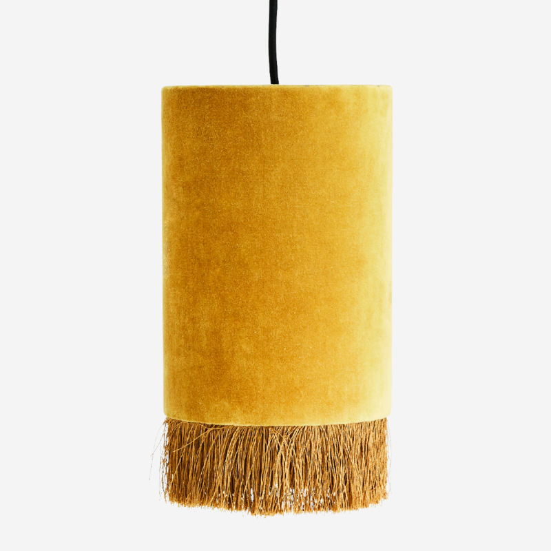 MADAM STOLTZ hanglamp geel