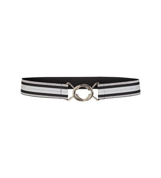 CO'COUTURE RIEM BLACK WHITE