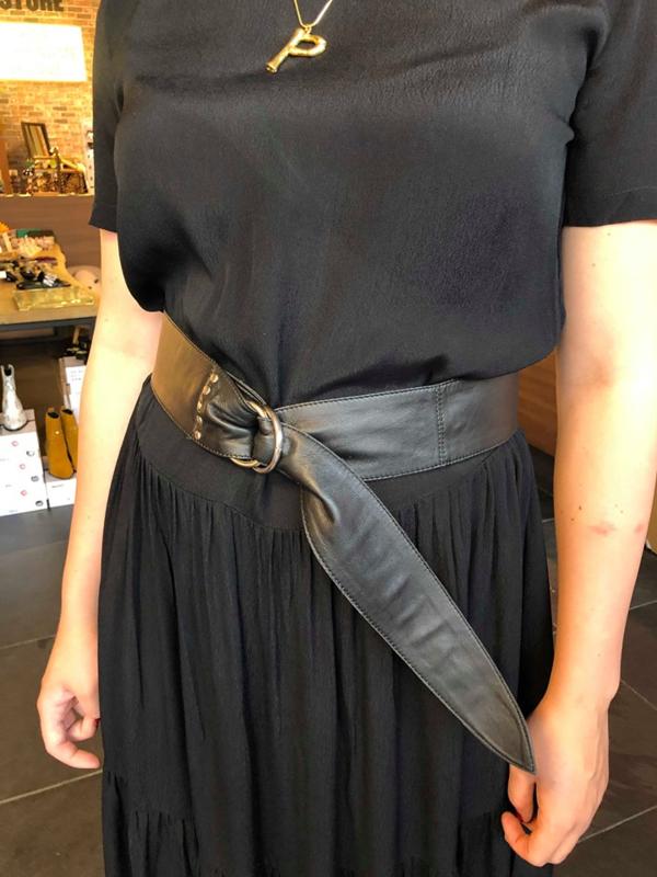 CO'COUTURE belt black