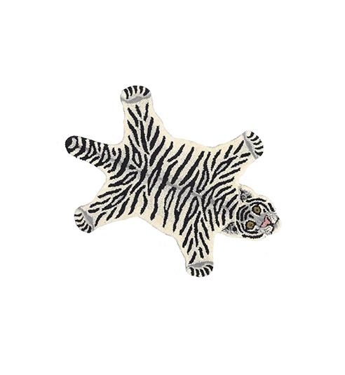 DOING GOODS tiger rug