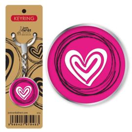 Key Ring - K116 - Heart ISBN:5060427979483