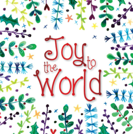 Onderzetters - Pack of 6 coasters - Joy to the World ISBN:5060427973900