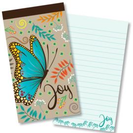 Small Kladblok - Jotter Pads - J134 - Joy ISBN:5060427978028