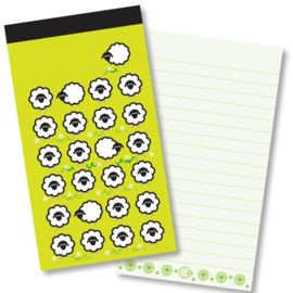 Small Kladblok - Jotter Pads - J138 - Many Sheep ISBN:5060427978066