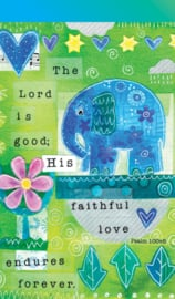 Small Kladblok - Jotter Pads - J116 - The Lord is good. ISBN:5060427975157