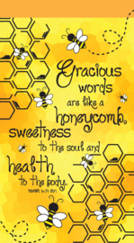 Small Kladblok - Jotter Pads - J121 - Gracious words are like honeycomb ISBN:5060427975201