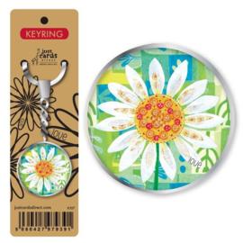 Key Ring - K107 - Flower ISBN:5060427979391