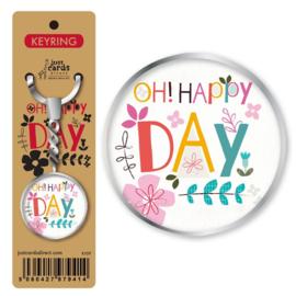 Key Ring - K109 - Oh Happy Day. ISBN:5060427979414