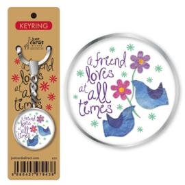 Key Ring - K111 - a Friend lovs at all times ISBN:5060427979438