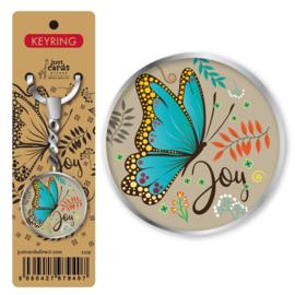 Key Ring - K 108 - Butterfly Joy ISBN:5060427979407
