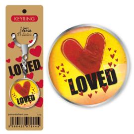 Key Ring - K112 - Loved ISBN:5060427979445