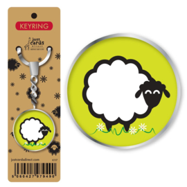 Key Ring - K117 - Sheep ISBN:5060427979490