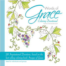 Words of Grace. Colouring Devotional ISBN:9780993423123