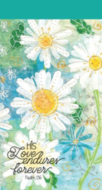Small Kladblok - Jotter Pads - J117 - His Love Endures Forever ISBN:5060427975164