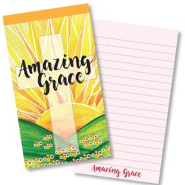 Small Kladblok - Jotter Pads - J129 - Amazing Grace ISBN:5060427977977