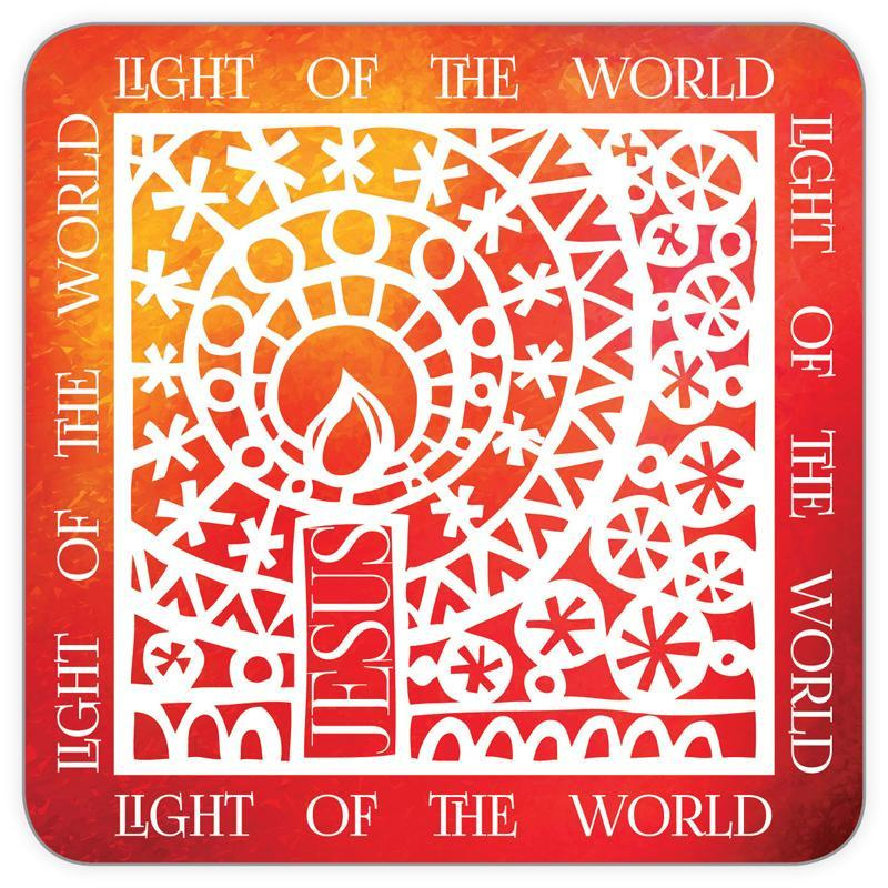 Onderzetters - Pack of 6 coasters - Light of the World ISBN:5060427972842