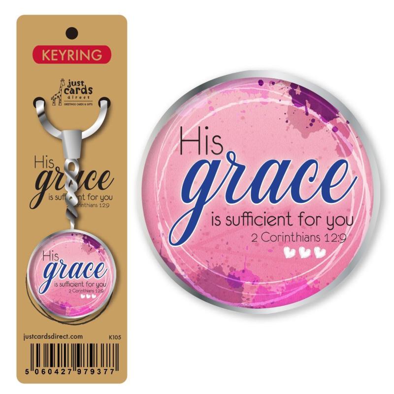 Key Ring - K105 - His Grace ISBN:5060427979377