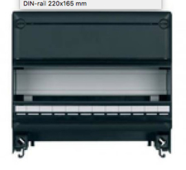 Eaton S55 Verhogingsstuk met DIN-Rail 220 x 165mm 12 modules