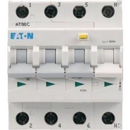 Eaton aardlekautomaat 3P+N C 16A 30mA