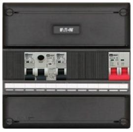 1-fase met installatieautomaten