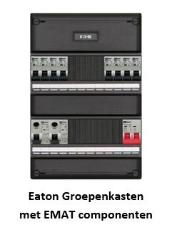 Eaton Groepenkasten met EMAT componenten