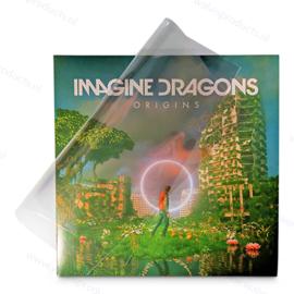 100 stuks - Blake Sleeves - Dubbel LP hoezen, zonder klep, dikte 0.05 mm.