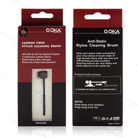 Goka Carbon Fiber Stylus Cleaning Brush