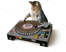 DJ Cat Scratching Pad Suck UK