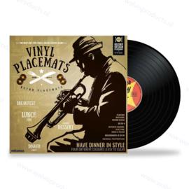4er Pack - Mikamax Vinyl Record Tischsets