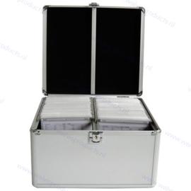 MediaRange Opbergkoffer voor 300 discs, zilver