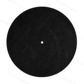 Vilten DJ Slipmat - van synthetische vezels